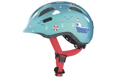 casque velo enfant abus smiley 2 0 turquoise