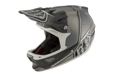 casque integral troy lee designs d3 carbon starburst mips argent noir 2017