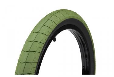 pneu eclat fireball steeve churchill vert flanc noir