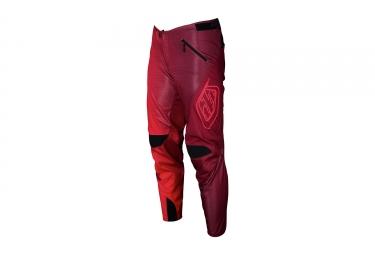 pantalon troy lee designs sprint 50 50 rouge 2017