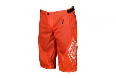 short troy lee designs sprint orange 2017