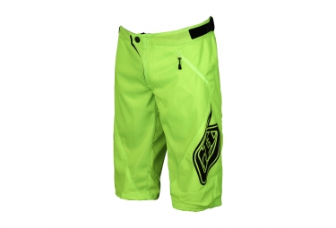 short enfant troy lee designs sprint jaune 2017