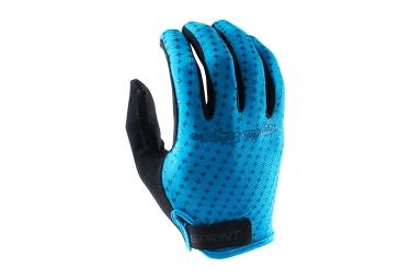 gants longs troy lee designs sprint bleu 2017