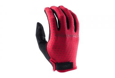 gants longs troy lee designs sprint rouge 2017
