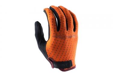 gants longs troy lee designs sprint orange 2017