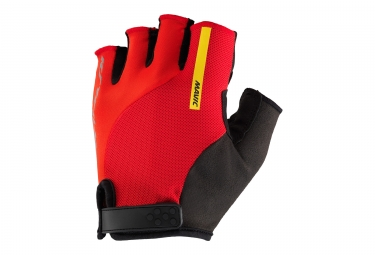 paire de gants courts mavic 2017 ksyrium elite rouge