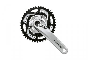 pedalier shimano xt fc m780 24 32 42 dents 3x10 vitesses gris