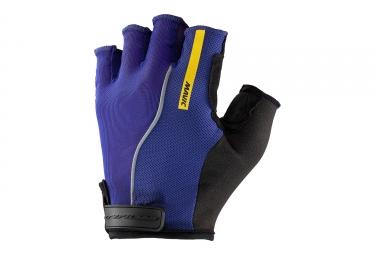 paire de gants courts mavic 2017 ksyrium pro violet noir