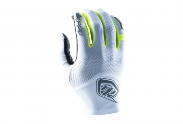 gants longs troy lee designs ace 2 blanc 2017