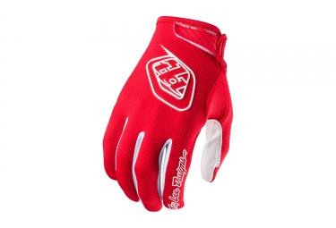 gants longs troy lee designs air rouge 2017