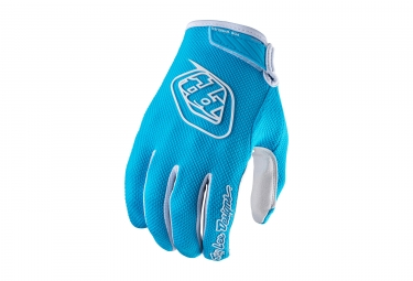 gants longs enfant troy lee designs air bleu 2017