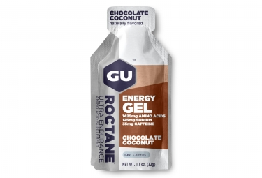 gel energetique gu roctane chocolat coco 32g