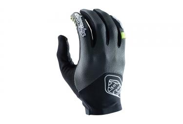 gants longs troy lee designs ace 2 gris 2017