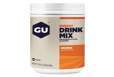boisson energetique gu drink mix orange 840g