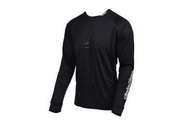 maillot manches longues troy lee designs moto noir 2017
