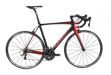velo route viper puy de dome carbone 11v shimano ultegra 6800 noir rouge