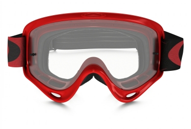 oakley masque xs o frame mx high voltage red clear ref oo7030 03