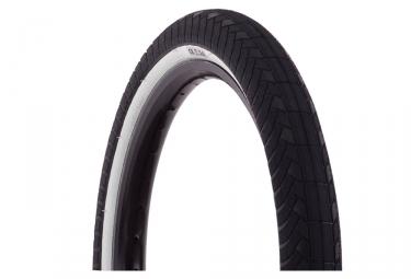 pneu premium ck wirebead noir flanc blanc