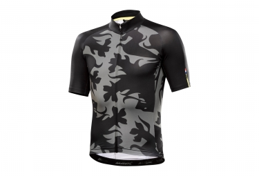 maillot manches courtes mavic 2017 cosmic ltd iii edition limitee classiques noir gr