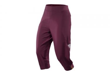 pantalon 3 4 femme mavic echappee violet
