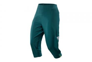 pantalon 3 4 femme mavic echappee bleu