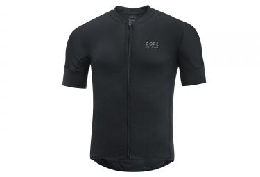 maillot manches courtes gore bike wear oxygen cc noir