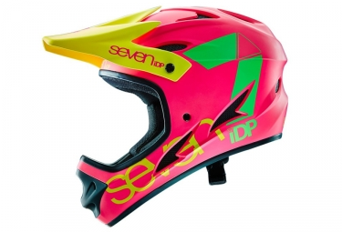 casque integral seven m1 rose