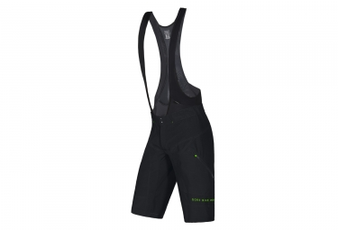 short 2 en 1 gore bike wear power trail noir