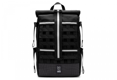 sac a dos rolltop chrome barrage cargo night noir gris