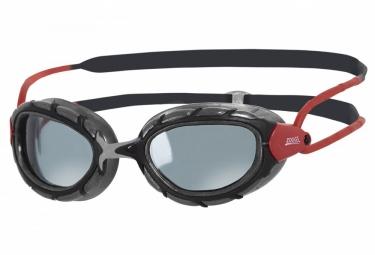 lunettes de natation zoggs predator polarized noir rouge
