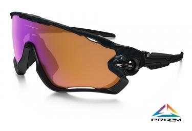 paire de lunettes oakley jawbreaker prizm trail noir carbone ref oo9290 2531