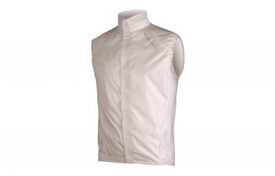 endura gilet compact sans manches pakagilet blanc