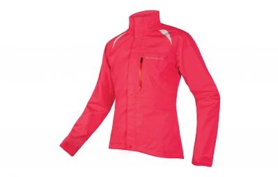 endura veste coupe vent femme gridlock ii rose