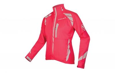 endura veste coupe vent femme luminite ii rose