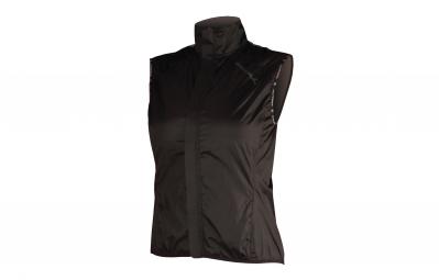 endura veste coupe vent femme pakagilet noir