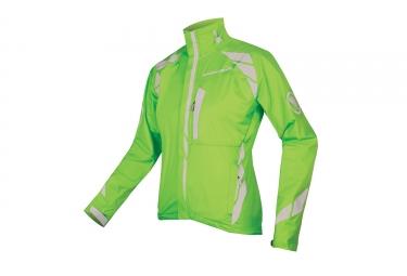 endura veste femme luminite ii vert fluo