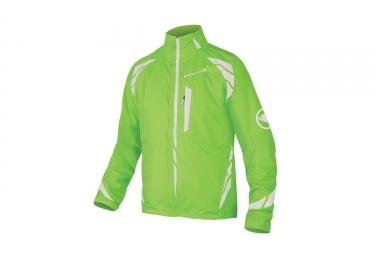 endura veste impermeable 4 en 1 luminite vert