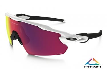 oakley lunettes radar ev pitch blanc prizm road ref oo9211 1238