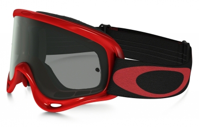 masque oakley xs o frame mx high voltage rouge fume ref oo7030 04