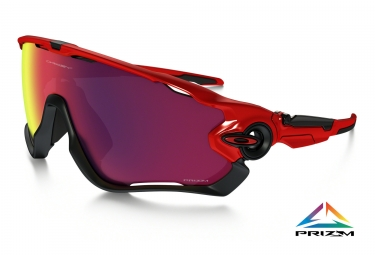 oakley lunettes jawbreaker redline prizm road ref oo9290 2431