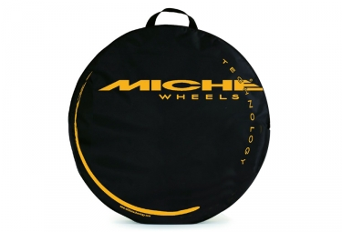 housse de roue miche 700 mm noir jaune