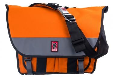 sac bandouliere chrome buran ii orange gris