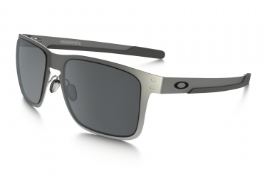 oakley lunettes holbrook metal satin chrome black iridium ref oo4123 0355