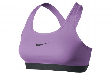 brassiere nike pro classic violet