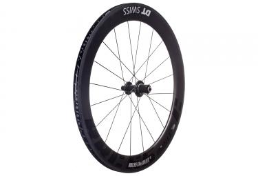 roue arriere dt swiss rrc 65 dicut pneu tl ready corps shimano sram