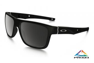 oakley lunettes crossrange noir mat prizm black polarized ref oo9361 0657