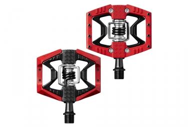 paire de pedales crank brothers 2017 double shot 3 rouge noir