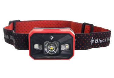 lampe frontale black diamond storm rouge