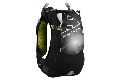 sac a dos de trail raidlight responsiv 10l 2x600ml noir jaune