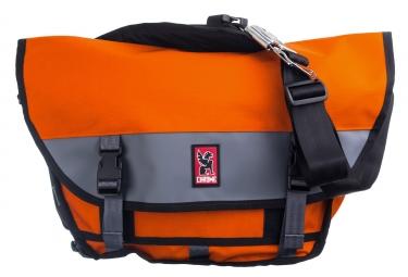 sac bandouliere chrome mini metro orange gris